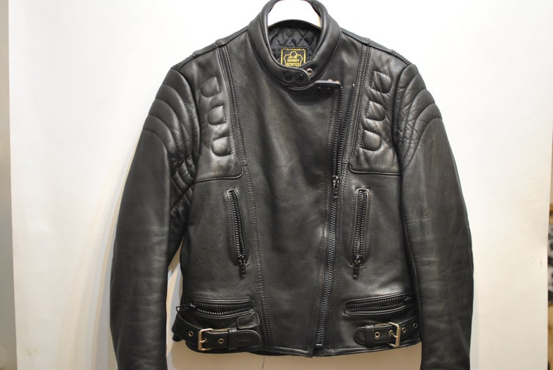 Vintage Leather Moto Jacket Women S Motorcycle Jacket Etsy