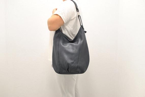 Vintage Leather shoulder bag , women's leather bag