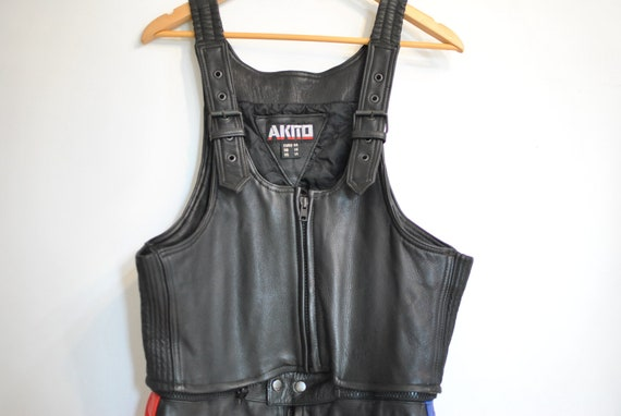 Vintage AKITO MOTORCYCLE LEATHER suit , motorcycle
