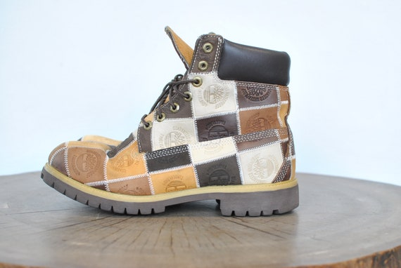 Vintage TIMBERLAND  MEN'S BOOTS , rare men's boots