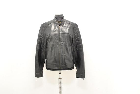 Vintage Motorcycle leather jacket , women's leathe