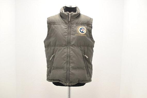 Vintage Napapijri men's down vest , winter vest wi