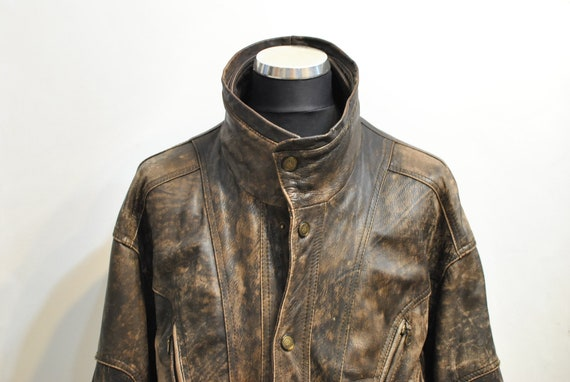 Pristine Leather Mens India Leather Jacket
