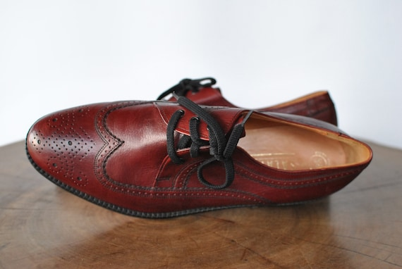 Vintage SALAMANDER leather shoes , men's leather s