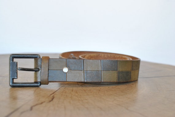 Vintage Men's leather belt ...........
