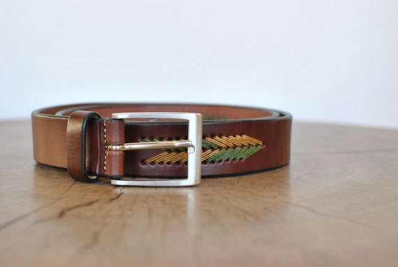 Vintage Men's leather belt ................