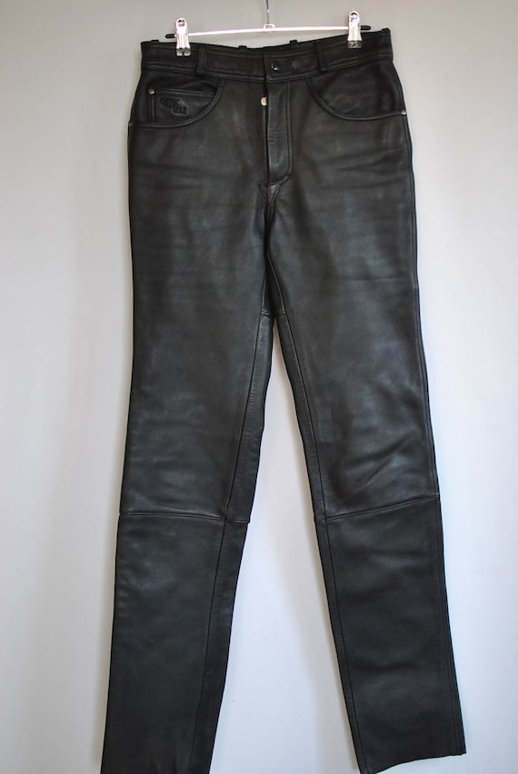 007 GERICKE HEIN Vintage leather leather pants classic pants gear 8qvv5dxAw