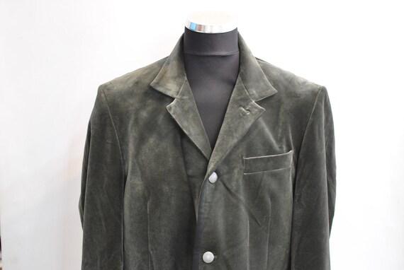 Vintage Lagerfeld suede blazer , men's blazer  , m