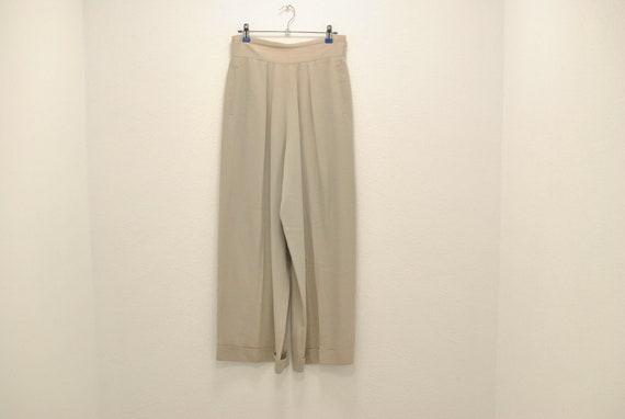 Vintage Women's wide leg pants , lose pants , eleg
