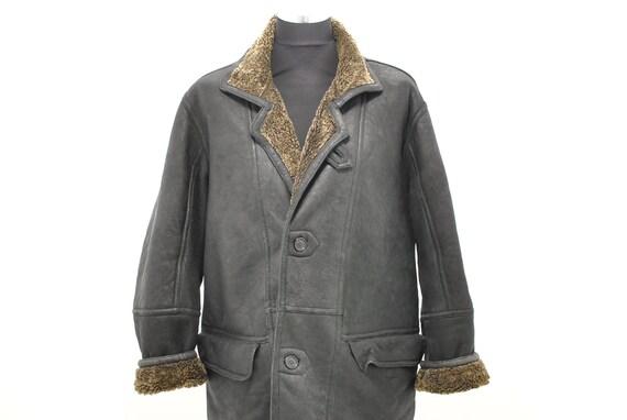 746 Vintage LAMBSKIN MEN/'S PARKA parka vintage.............