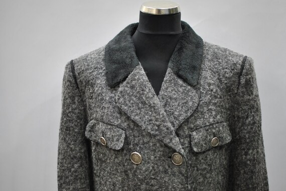 women Tyrol Vintage coat STEINBOCK wool 037 A45Fntq5