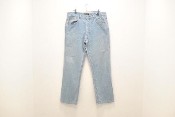Vintage Versace Jeans Couture men's blue jeans , s