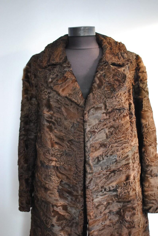 differently 1aadc 45336 CAPPOTTO di PELLICCIA di ASTRAKAN vintage, donne cappotto di pelliccia...  (317)