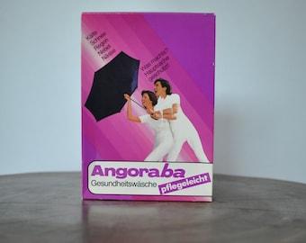Vintage HEALTH-UNDERWEAR , wool and angora women's body warmer .......