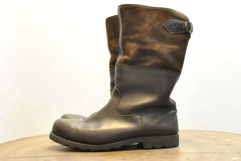 62cf9b539618b Vintage MEN'S LEATHER BOOTS , heavy winter men's boots...........(120)