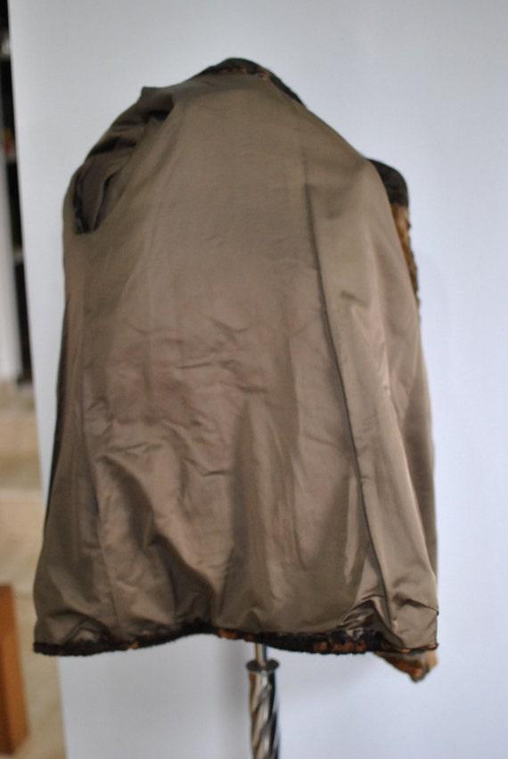 luxurious women's MEDIUM FUR COAT Vintage fur coat 206 qItw7Zd