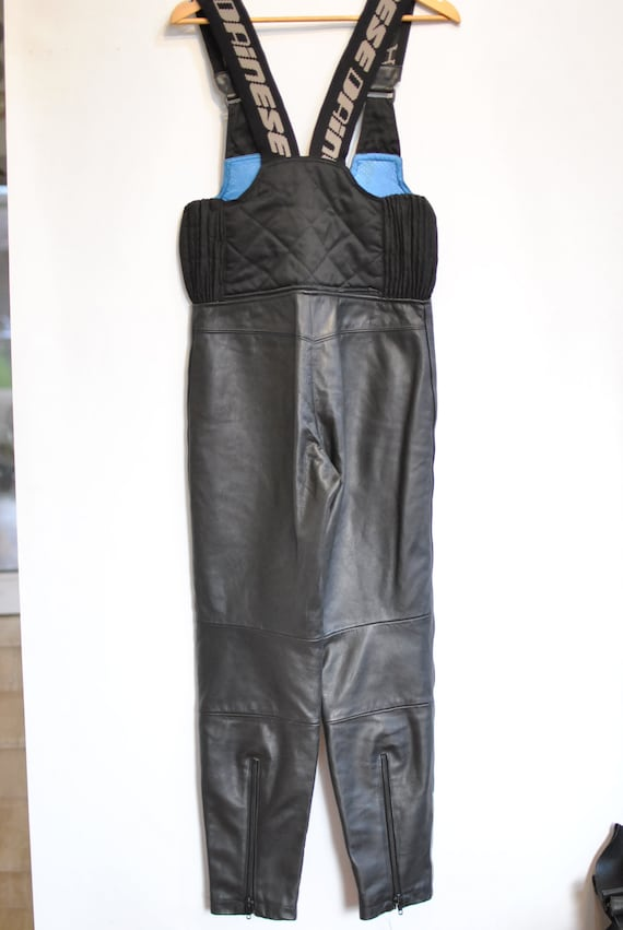 leather motorcycle Vintage equipment pants DAINESE unisex MOTORCYCLE 091 EZCSZq
