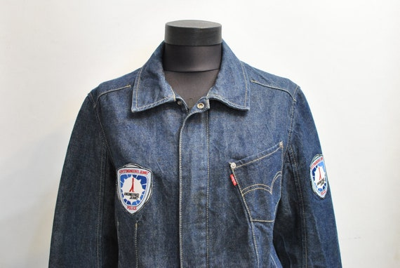 Vintage LEVIS JEANS JACKET , women's jeans jacket