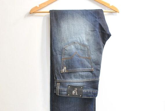 Vintage VERSACE MEN'S JEANS , men's blue jeans siz