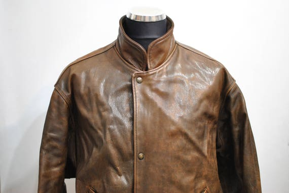 Vintage CHEVIGNON AIR'S LEATHER jacket , Old Fligh