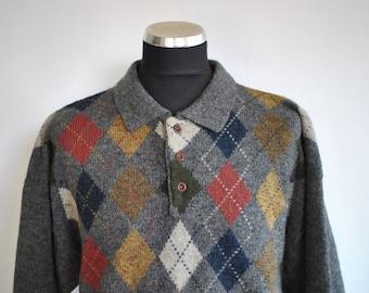 Vintage MEN'S wool pullover  ..........