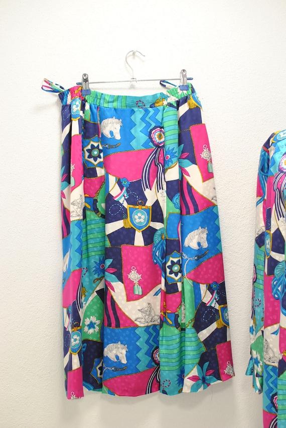 Vintage Peter Hahn silk summer suit , women's sum… - image 5
