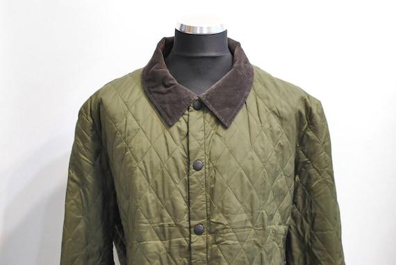 Vintage BARBOUR MEN'S PADDED jacket , men's spring