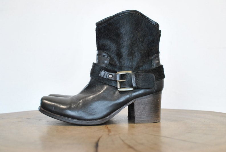 women/'s booties 109 Vintage Leather ankle boots size 39.............