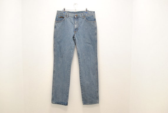 Vintage Wrangler Texas men's blue jeans , men's je