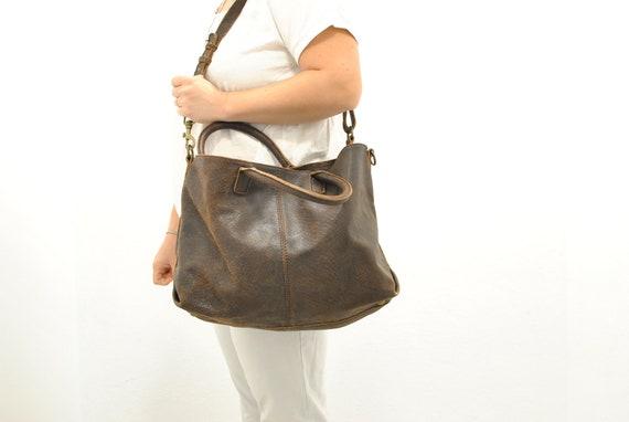 Vintage Liebeskind Leather bag , messenger bag , w