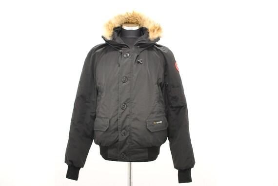 Vintage C . Goose Down bomber jacket , men's storm