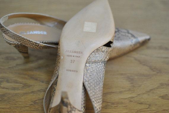 shoes Vintage shoes SANDER 032 deisgner leather JIL stiletto nnPUz1pwIq