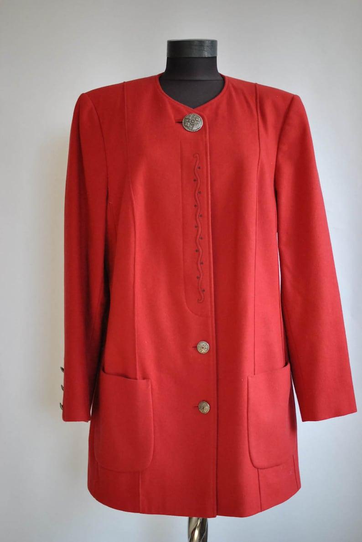Vintage IULIUS LANG women/'s trench coat  blazer ............ 375