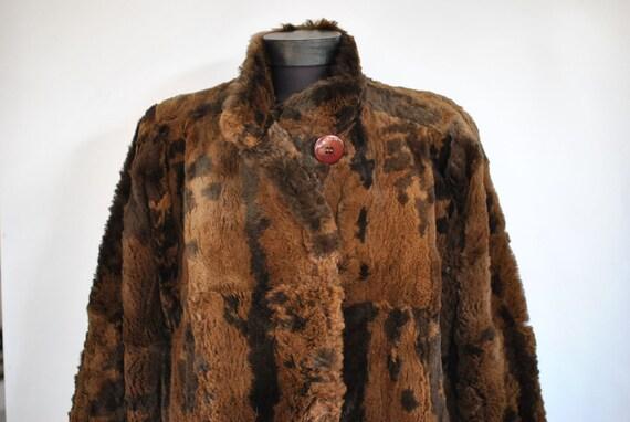 Vintage MINK FUR COAT , women's medium length fur