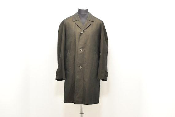 Vintage Men's trench coat , men's coat size XL  ..