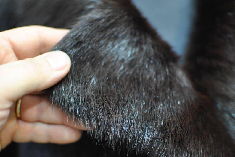 glamorous fur coat.............. 479 winter fur coat Vintage FOX FUR FULL length coat