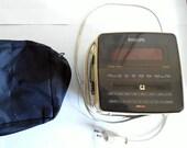 Philips Magnavox Alarm Clock w Radio D-3110- Retro Style Very Cool