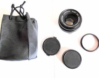 Olympus OM System Zuiko MC Auto-S 50mm f1.8 Lens