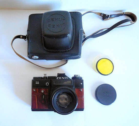 zenit 11 export film camera with helios 44 2 58mm lens new etsy