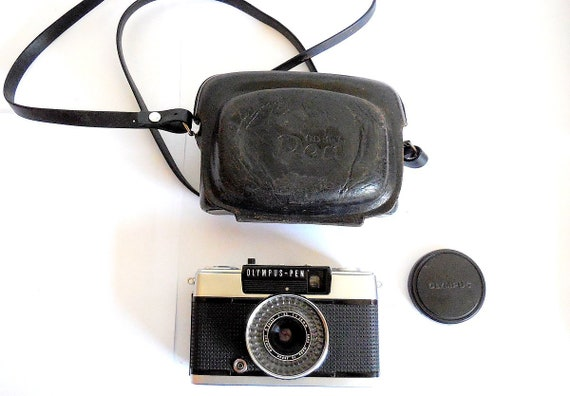 Olympus Pen Ee3 Film Camera Case New Seals Lens Cap Etsy