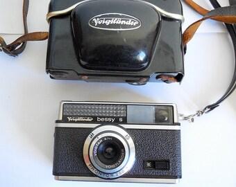 Voigtlander Bessy S 1960s Film 126mm Camera, Germany, Hard Case
