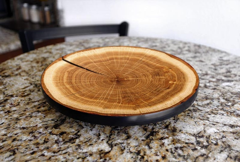 Wooden Tabletop Lazy Susan Countertop Lazy Susan Table Top Etsy