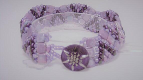 4e394a18a59 Wisteria Darby Bracelet Purple Bracelet Beaded Bracelet