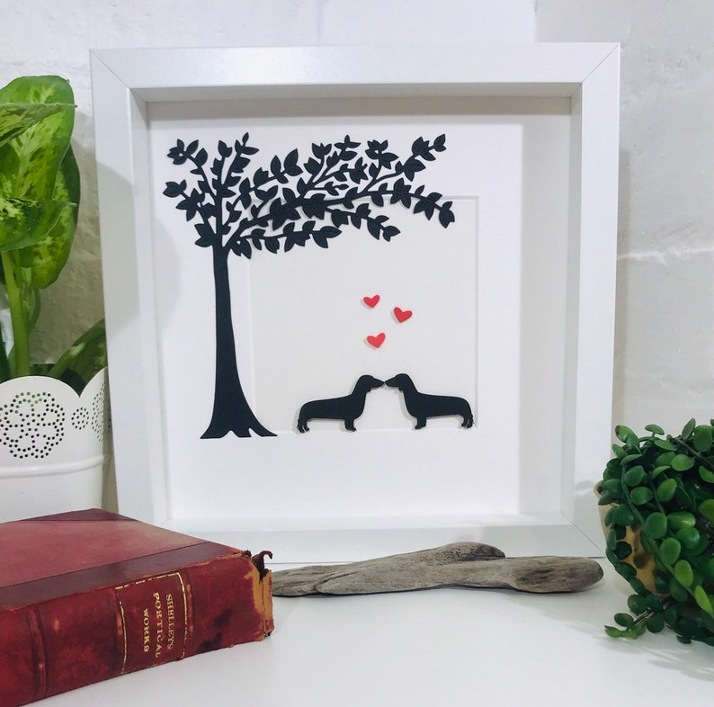 Dachshund Picture Romantic Dachshund Couple Picture  Perfect image 0