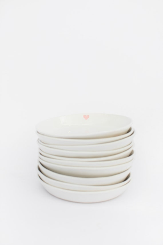 Jillian Harris x Etsy – SHALLOW BOWL with Heart