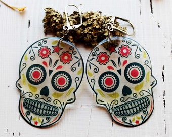 dangle earrings for sensitive ears dangles for earring cute earrings for girls earrings for girlfriend gothic jewelry punk jewelry rock roll