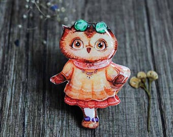 Owl jewelry Owl gifts Boho jewelry boho gifts|for|girls gift|for|kids gift toddler gift baby gift|for|her gift|for|girlfriend birthday gift