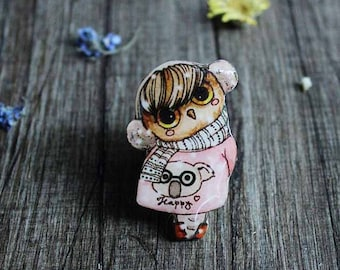 Pink gifts|for|little girls gift|for|daughter gift|for|her gift|for|girlfriend gift mother daughter gift|for|kids owl gifts princess jewelry