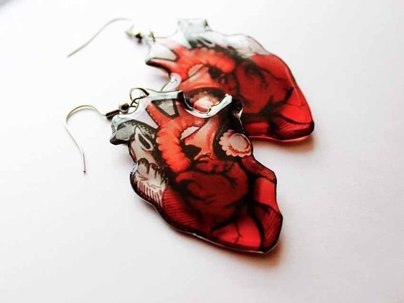 halloween earrings halloween jewelry heart earring earring for image 0