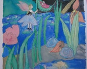 Water Lily Flower Fairy n...